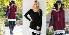 Sweet Coupon Deals - It's Cool to Clip Celeste Lace Tunic $19.99 (reg. $48.)!