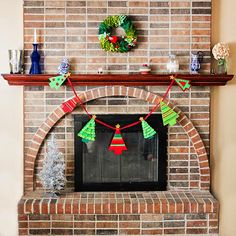 Deck The Halls: Holiday Decor Guide via Daily Mom featuring an assortment of our Felt Holiday Decor