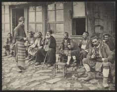 A Hookah Cafe in Istanbul 1885 [2399 1888]