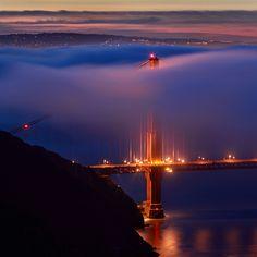 Golden Gate fog...