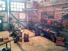 my 1/25 garage diorama