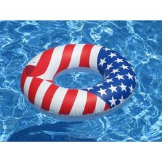 Amazon.com : Swimline Americana Series Ring : Sports & Outdoors