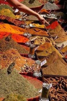 spices, market, Aix-en-Provence, France. Photo: u_sperling, via Flickr