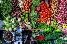 Jewel like vegetables