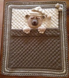 Bobbles & Bows Crochet.Car seat,Baby carrier blanket.
