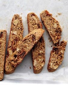 Fig and Walnut Biscotti - Can make SCD Legal with Almond Flour and Honey - Grain Free, Gluten Free, Paleo