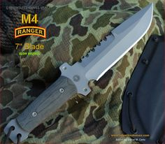 The blade, unlike cataloged Relentless knives is a true Hollow grind rather the a semi hollow saber grind.