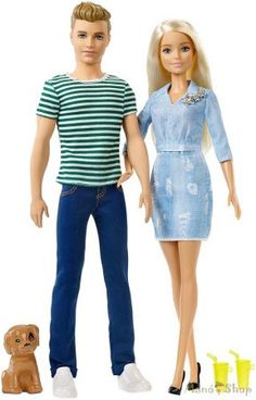 The Moschino Barbie Ken Gift Set Of Collector Designed Has Been Specially For Collectors And - Barbie And Ken Doll Gift Set Mattel Barbie, Barbie E Ken, Barbie Doll Set, Princess Barbie Dolls, Barbie Sisters, Ken Doll, Pink Barbie, Barbie Style, Toy Cars For Kids