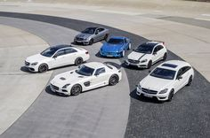 Six of in total 18 AMG models witnessing the premieres at Mercedes-Benz dealerships.