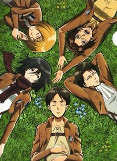 Here's another little something to make the AOT fans smile. Have a nice day every one
