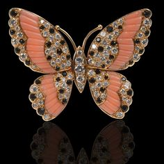 Art Nouveau, enamel and diamond butterfly brooch Bijoux Art Nouveau, Art Nouveau Jewelry, Jewelry Art, Vintage Jewelry, Fine Jewelry, Fashion Jewelry, Insect Jewelry, Butterfly Jewelry, Animal Jewelry