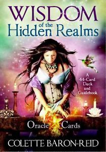 Wisdom of the Hidden Realms : A 44-Card Deck and Guidebook by Colette Baron-Reid