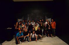 Turma do INAP na exposição. Palácio das Artes, BH, MG, Brasil.
