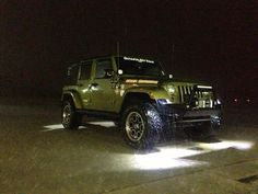 Battle the elements with rock lights from Olympus Offroad!