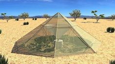 Dew collector greenhouse