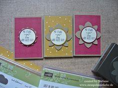 Stampin Up - Teebeutelverpackung - Teebeutelkarte - Card - Weihnachten - Christmas Tea Card - Designerpapier Es weihnachtet sehr - Video - Anleitung - Tutorial ♥ StempelnmitLiebe