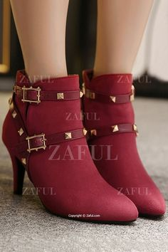 red studded boots LOVE!!!!