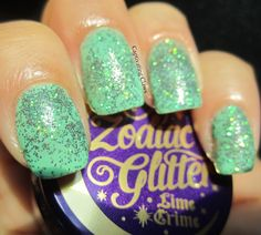 Captivating Claws: Lime Crime Zodiac Glitters