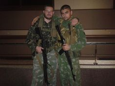 separtists with russian made rpk74m