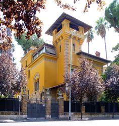 Villino liberty al quartiere Coppedé