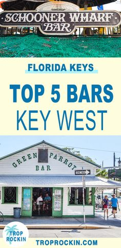 Top 5 Key West Bars to visit on your Florida Keys vacation. The best nightlife and live music in Key West. Break ideas usa Top 5 Key West Bars You Don't Want to Miss! Florida Keys, Key West Florida, Florida Vacation, Florida Travel, Florida Beaches, Vacation Spots, Travel Usa, Fl Keys, Travel Tips