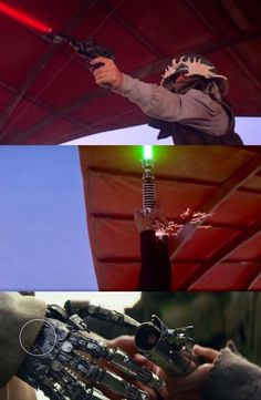 In return of the Jedi the shot that Luke's robotic hand received is still there in The Last Jedi Star Wars Jokes, Star Wars Facts, Star Wars Comics, Images Star Wars, Star Wars Pictures, Star Wars Rebels, Star Trek, Star Wars Episode Iv, Pokemon