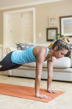 This No-Equipment Workout Is the Perfect Stress Buster - Stress Management Strength Workout, Strength Training, At Home Workout Plan, At Home Workouts, Stress Busters, Certified Personal Trainer, Feeling Lost, Stress Management, Burn Calories