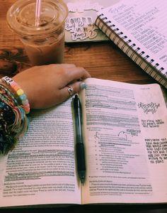 Quotes inspirational school truths new Ideas Bible Notes, My Bible, Bible Art, School Motivation, Study Motivation, Bibel Journal, Study Hard, Study Inspiration, Study Notes