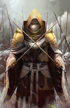 War Priest, Saranit Klinklaykun on ArtStation at https://www.artstation.com/artwork/vxvov