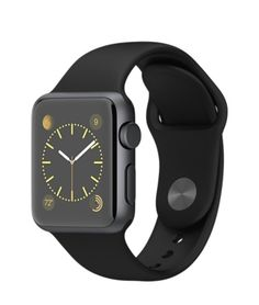 Apple Watch Sport - Space Gray Aluminum Case with Black Sport Band (38mm & 42mm) - NOW $299/$349