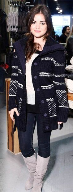 Lucy Hale Fashion and Style - Lucy Hale Dress, Clothes, Hairstyle - Page 4