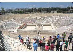 Massive model of the Jerusalem of Jesus' day