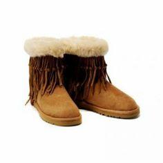 UGG Tassel Short 5835 boots Chestnut