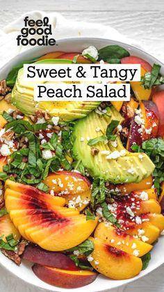 Healthy Salad Recipes, Whole Food Recipes, Diet Recipes, Healthy Snacks, Vegetarian Recipes, Healthy Eating, Cooking Recipes, Pasta Salad Recipes, Summer Salads