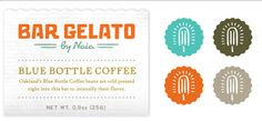 Bureau of Betterment (Mette Hornung Rankin). Identity for a gelato product.