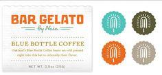 Bureau of Betterment (Mette Hornung Rankin). Identity for a gelato product.