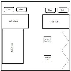 10x10 craft booth layout ideas - Google Search