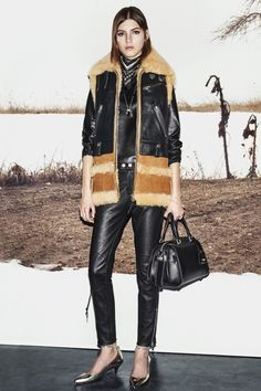 Black leather at Coach, Ready to Wear Fall '15
