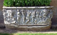 Roman sarcophagus depicting debauched Dionysian revelry in the afterlife.