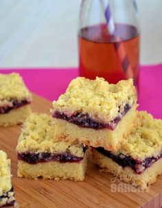 Forest fruit cookies bars