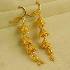 Bollywood Indian Women Wedding Goldplated Earrings Drop Dangle Fashion jewelry