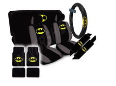 DC Comics Batman The Dark Knight Seat Covers Floor Mats Car SUV Truck Van | eBay
