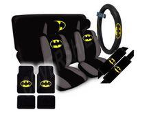 DC Comics Batman The Dark Knight Seat Covers Floor Mats Car SUV Truck Van | eBay