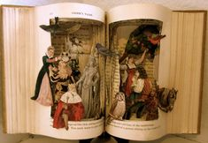 Altered Books - The Altered Books art series brings characters to life in a very crafty way. Papier Diy, Classic Fairy Tales, Altered Book Art, Book Sculpture, Paper Sculptures, Grimm Fairy Tales, Up Book, Origami, Handmade Books