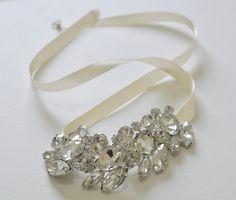 Rhinestone Wedding Bracelet