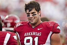 Jake Bequette.... and Arkansas football <3 <3 <3  I'm gonna marry this boy someday. And Donny is gonna be okay with it because he loves him as much as I do!! :)