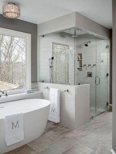Shower remodel, bathroom renovations, house renovations, home remodeling, d Master Bath Remodel, Diy Bathroom Remodel, Bathroom Renos, Bathroom Renovations, Small Bathroom, Large Bathrooms, Bathroom Cabinets, Restroom Remodel, House Renovations