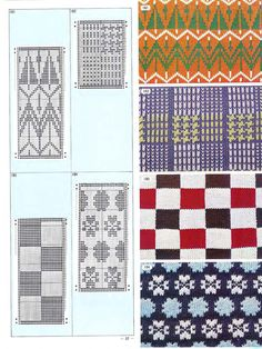 Pattern Library for Punch Card Knitter FAIRISLE