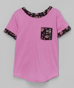 Look at this Pink Alice Tee - Girls on #zulily today!