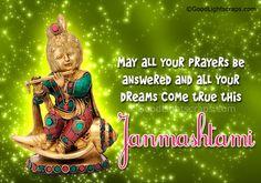 Krishna Janmashtami Images with messages